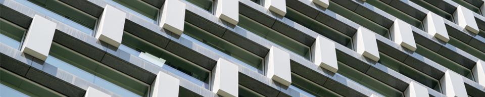 Rectangular and square cladding apartment